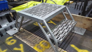 aluminium step up platform