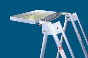 Loading Trays for Folding Platform Ladder