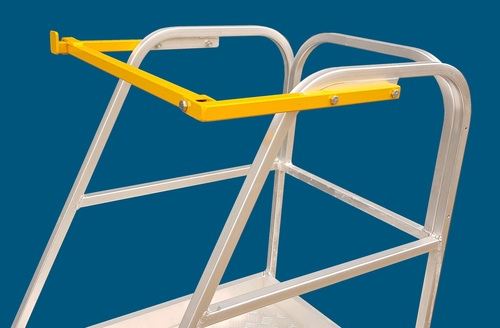 EPOSG - Optional Safety Gate for Walk though aluminium order picker ladders Australian Made