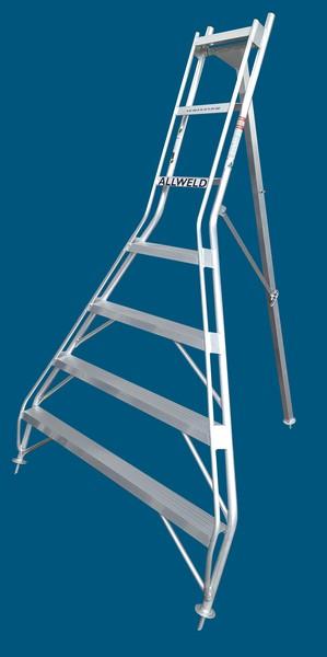TR21f tripod ladder 7 step flat fop australian made