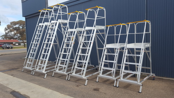 Allweld industrial Order Picker ladders