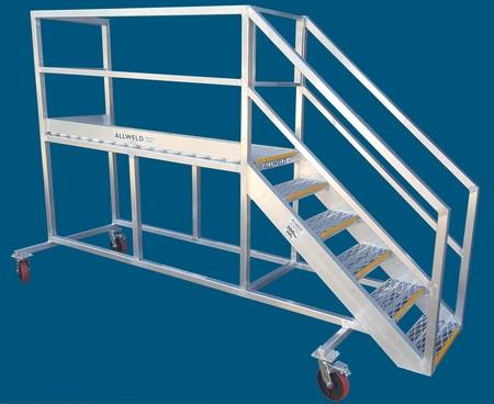 Truck Access platform ladder