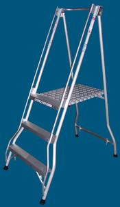 FPS09 3 step platform ladder 200kg rated