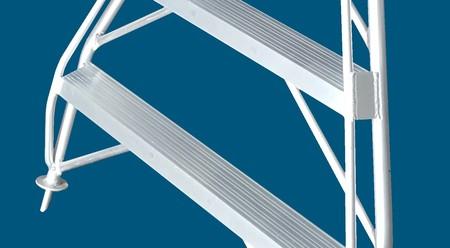 Welded aluminium Orchard ladder