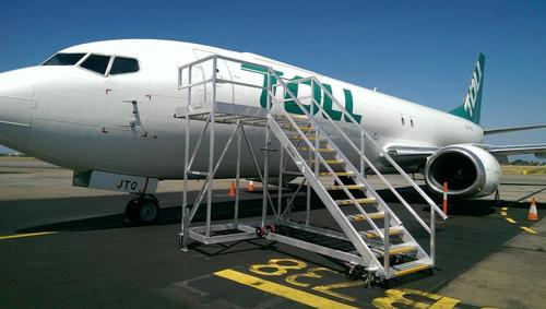 B737 entry stairs