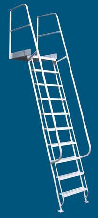Allweld mezzanine ladder