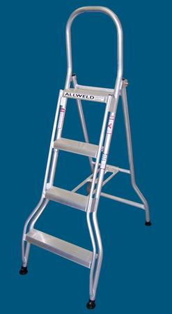 SS12 - 4 step single sided ladder Australian Made