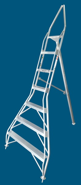 TR21p tripod orchard ladder 7 step pointy top Australian made