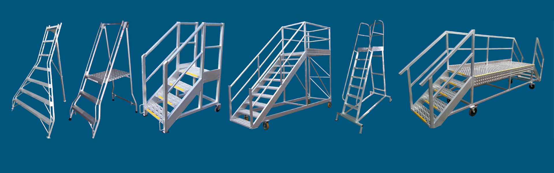 some of the Allweld platform ladder range
