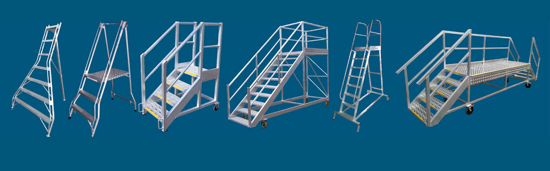 some of the Allweld platform ladder range