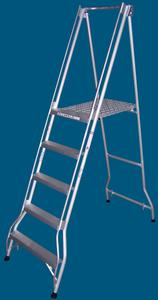 FPS15 5 step platform ladder 200kg rated