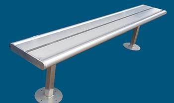 aluminium bench seat