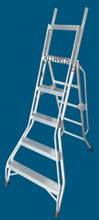 DP18 - 6 step dual purpose ladder ALLWELD Australian made