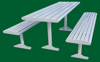 aluminium picnic setting