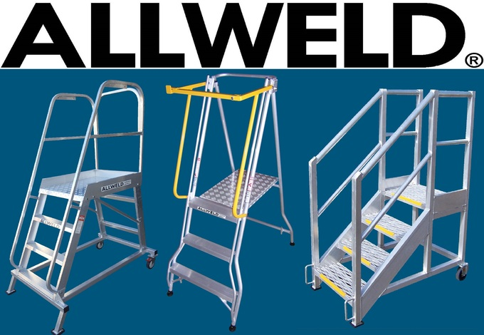 Allweld Platform Ladders